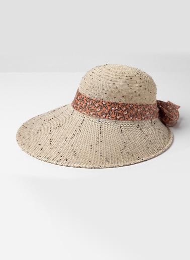 Katia & Bony Retro Kadın Şapka  Ten